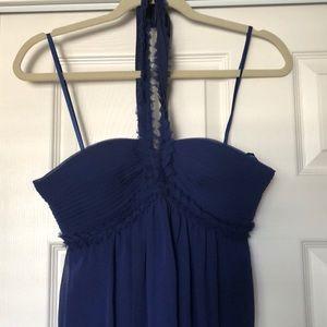 BCBG Long Blue gown